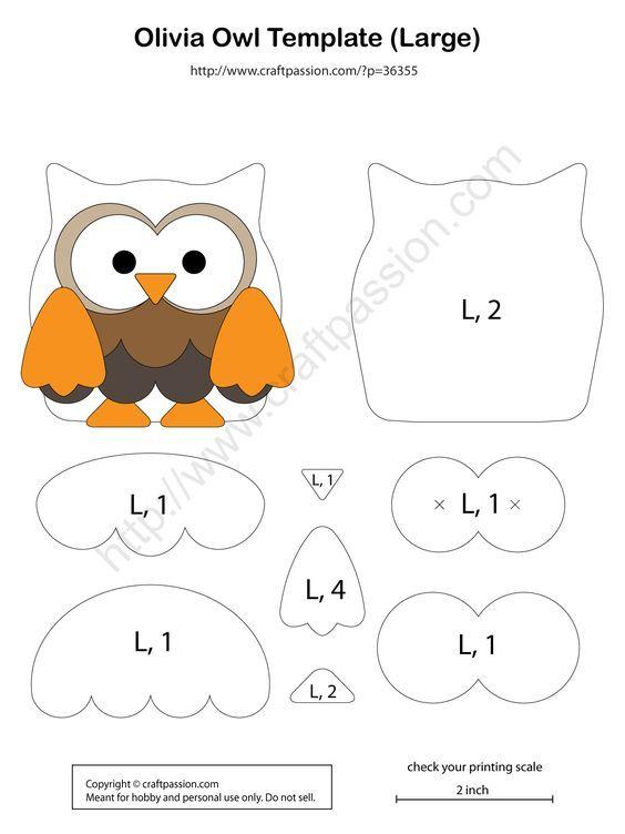Owl Pattern - Olivia - Free Pattern & Tutorial | crafts | Pinterest ...