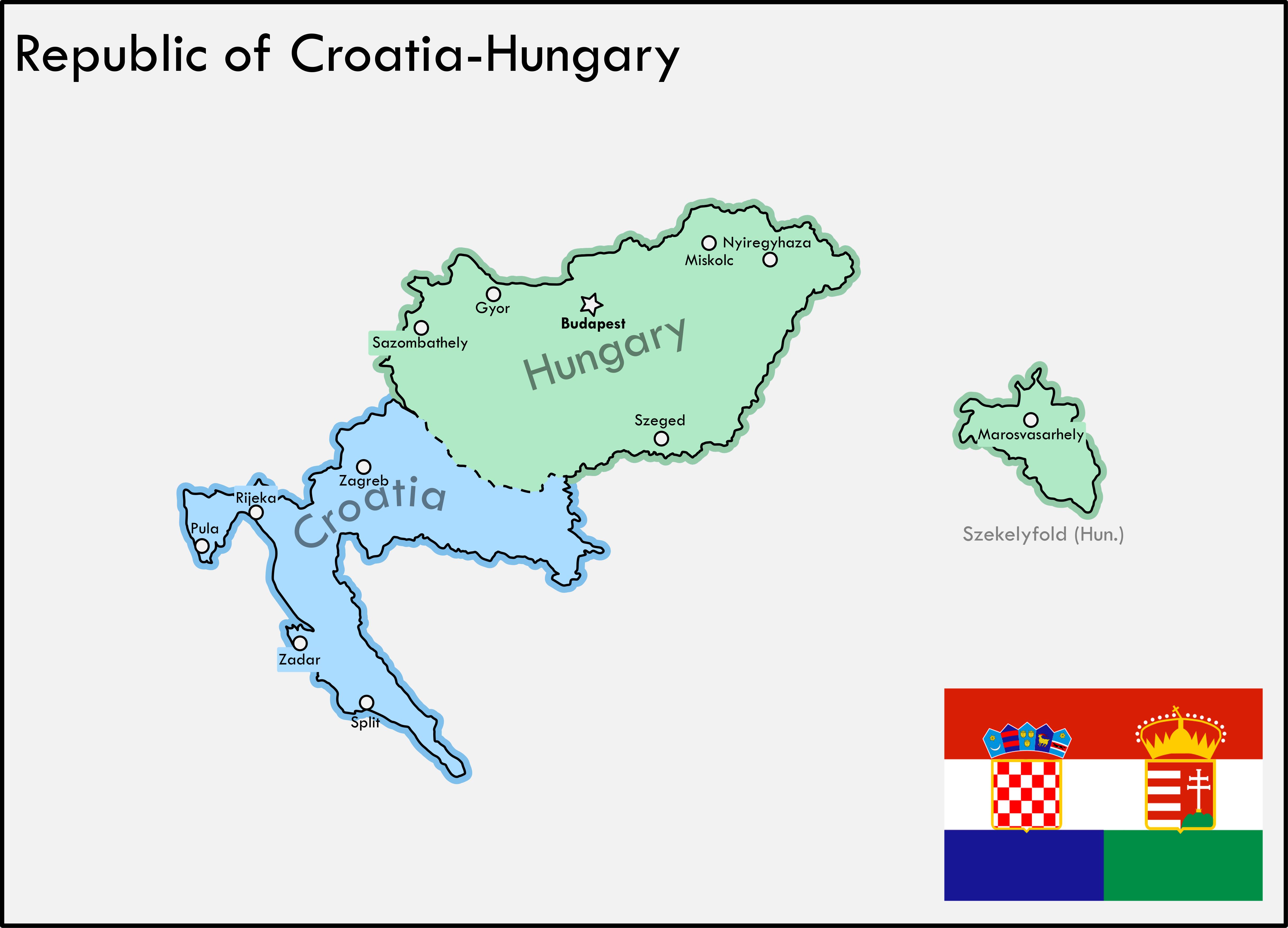 Republic Of Croatia Hungary Imaginary Maps Fantasy Map Historical Maps