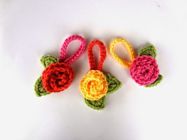 Fiber Flux: Free Crochet Pattern...Travel Blooms | Crochet small ...