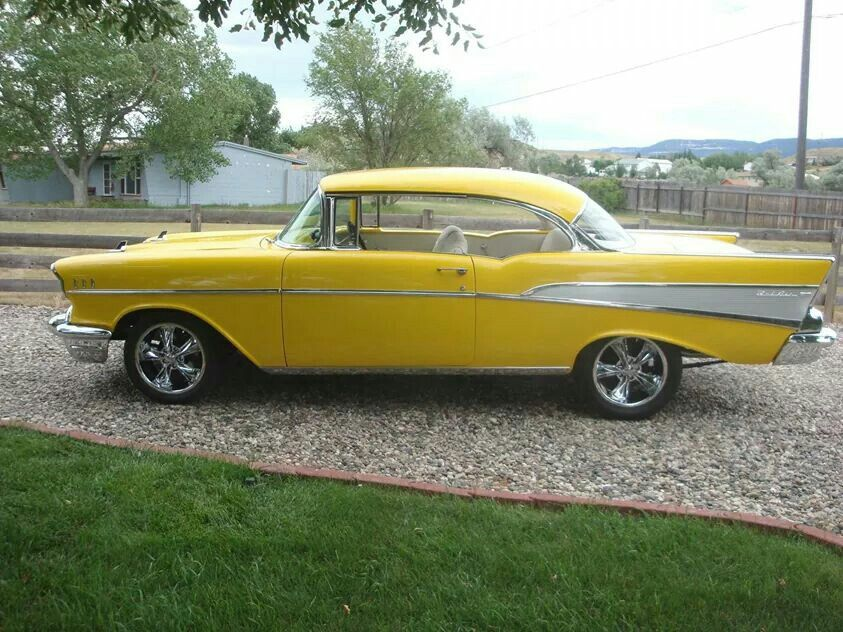 '57 Chevy Bel Air Classic cars vintage, Classic cars