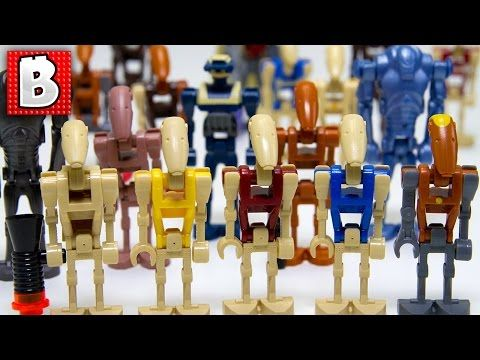 Every Lego Battle Droid Minifigure Ever Made Rare Tactical