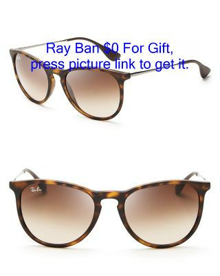 Delicate stems and curvy frames define these sleek Ray-Ban shades ...