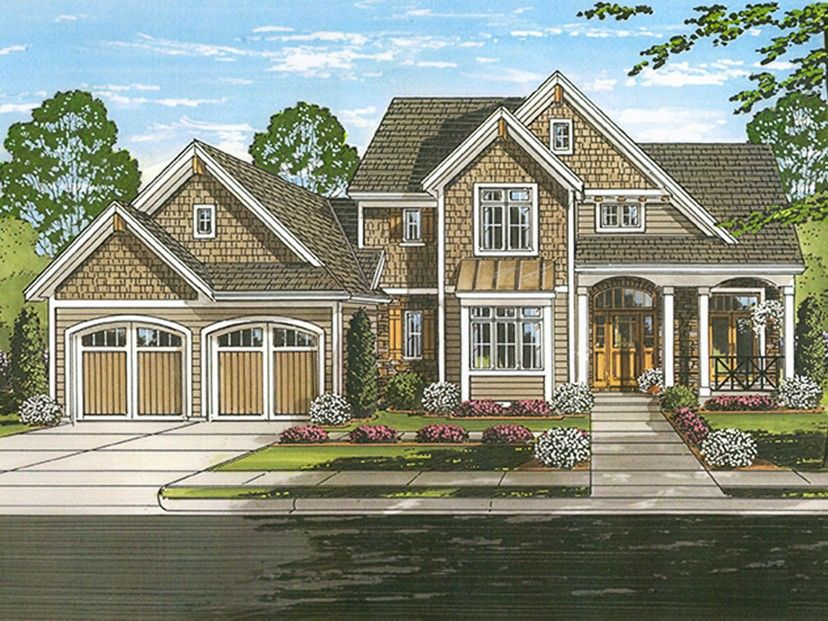 ePlans Traditional House Plan u2013 Marvelous Curb