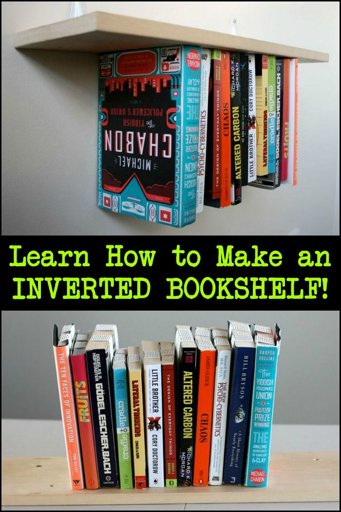 Looking For Something Different In A Bookshelf Then This Project Is You See The Step By Tutorial Here