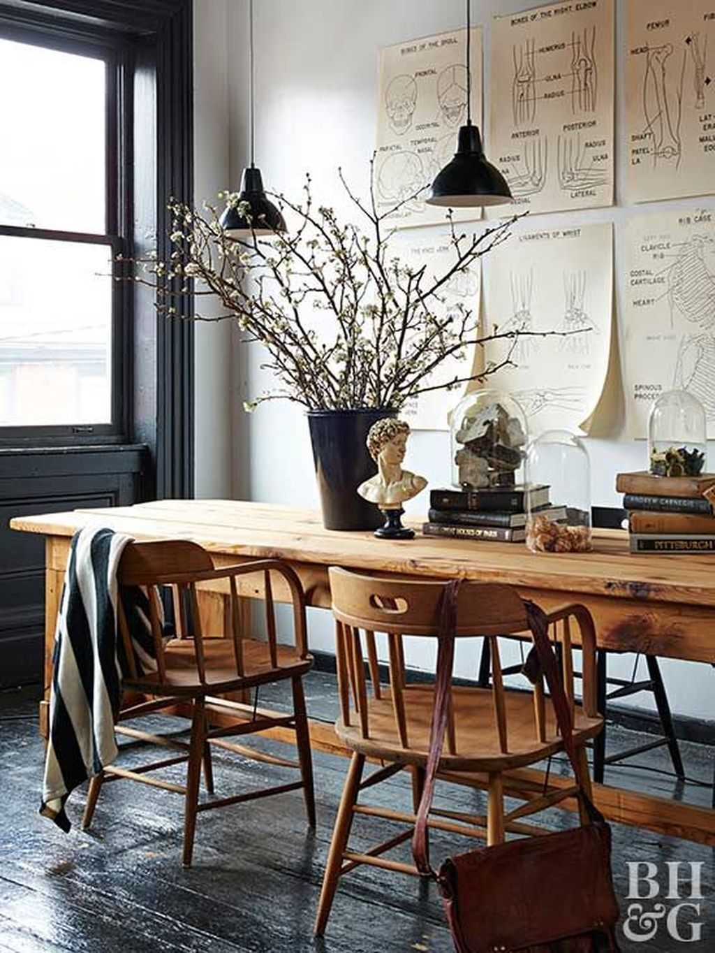 40 Creative Wooden Dining Tables Design Ideas Wooden Dining Tables Dining Table With Bench Dining Table