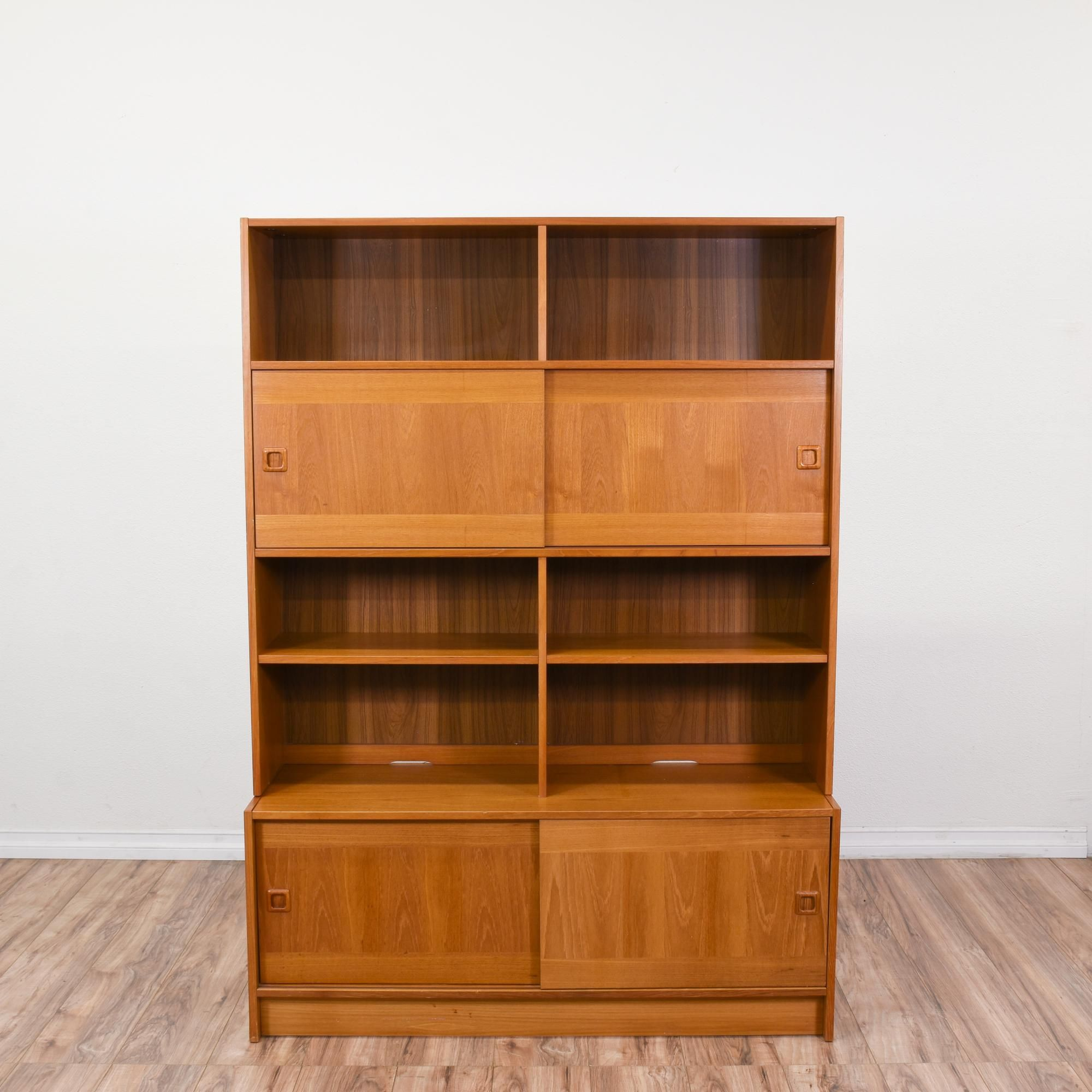 This Domino Mobler Wall Unit Made In Denmark Is Featured In A