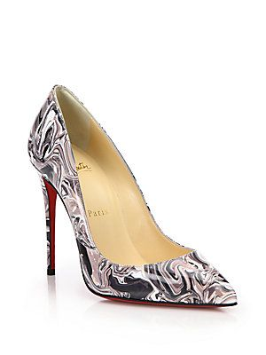 7723d597ea6 Christian Louboutin Pigalle Follies Marble Swirl Patent Leather ...