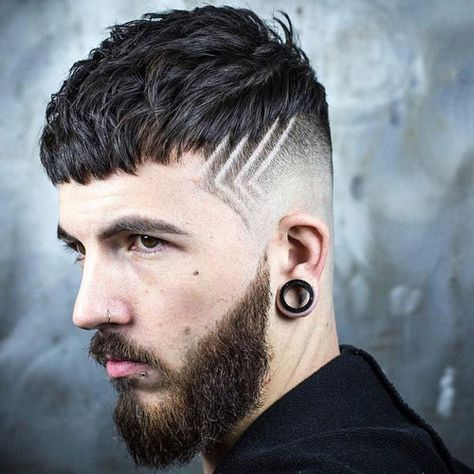 cool haircut designs for men   haircuts hairstyles also and rh pinterest