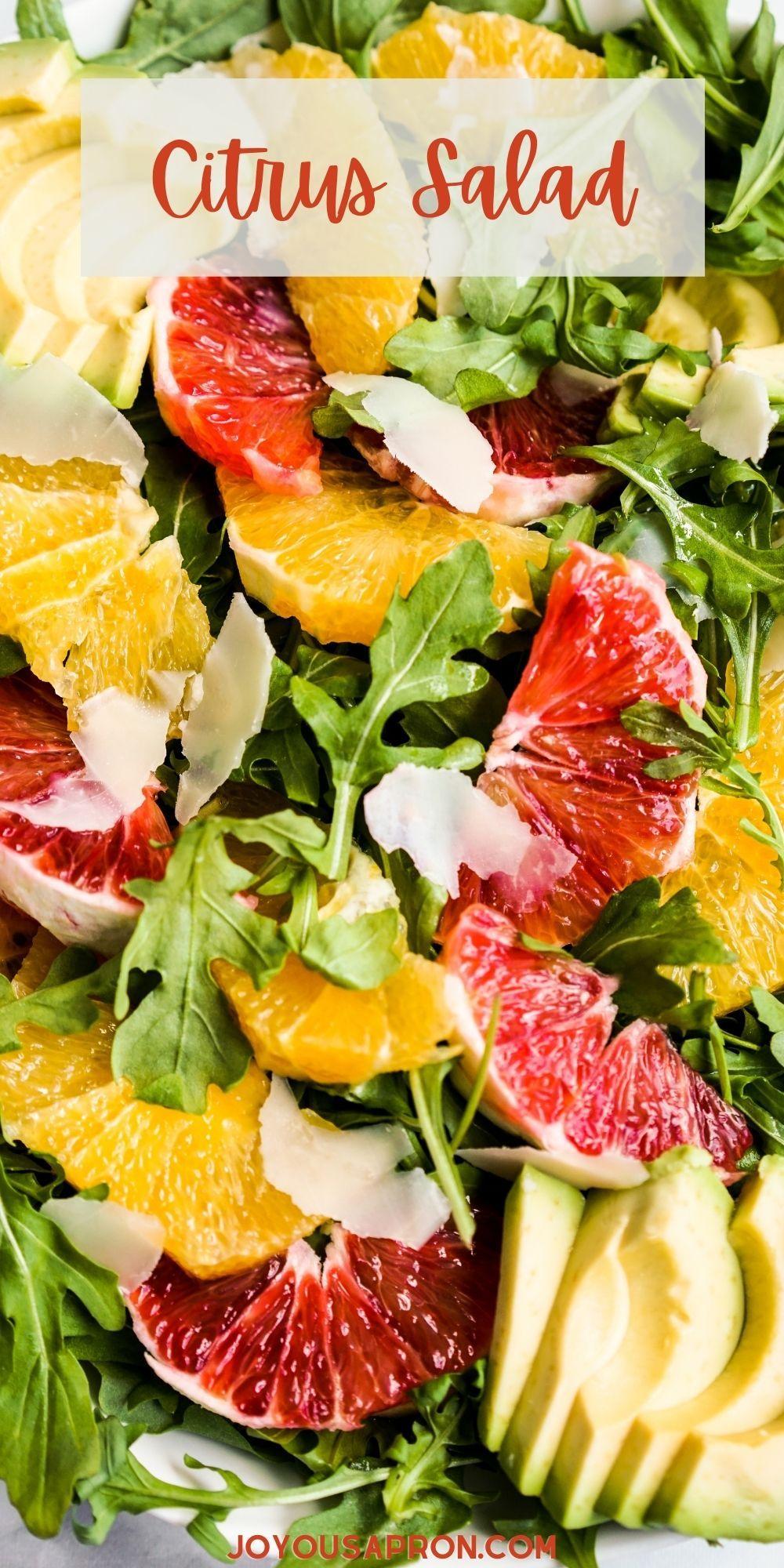 Avocado Orange Salad Avocado Citrus Salad Joyous Apron Recipe In 2021 Citrus Salad Recipes Orange Salad Recipes Citrus Salad