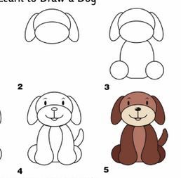 How To Draw A Cute Puppy Step By Step My Kawaii Home Pink Puppy Cute Puppies Drawings