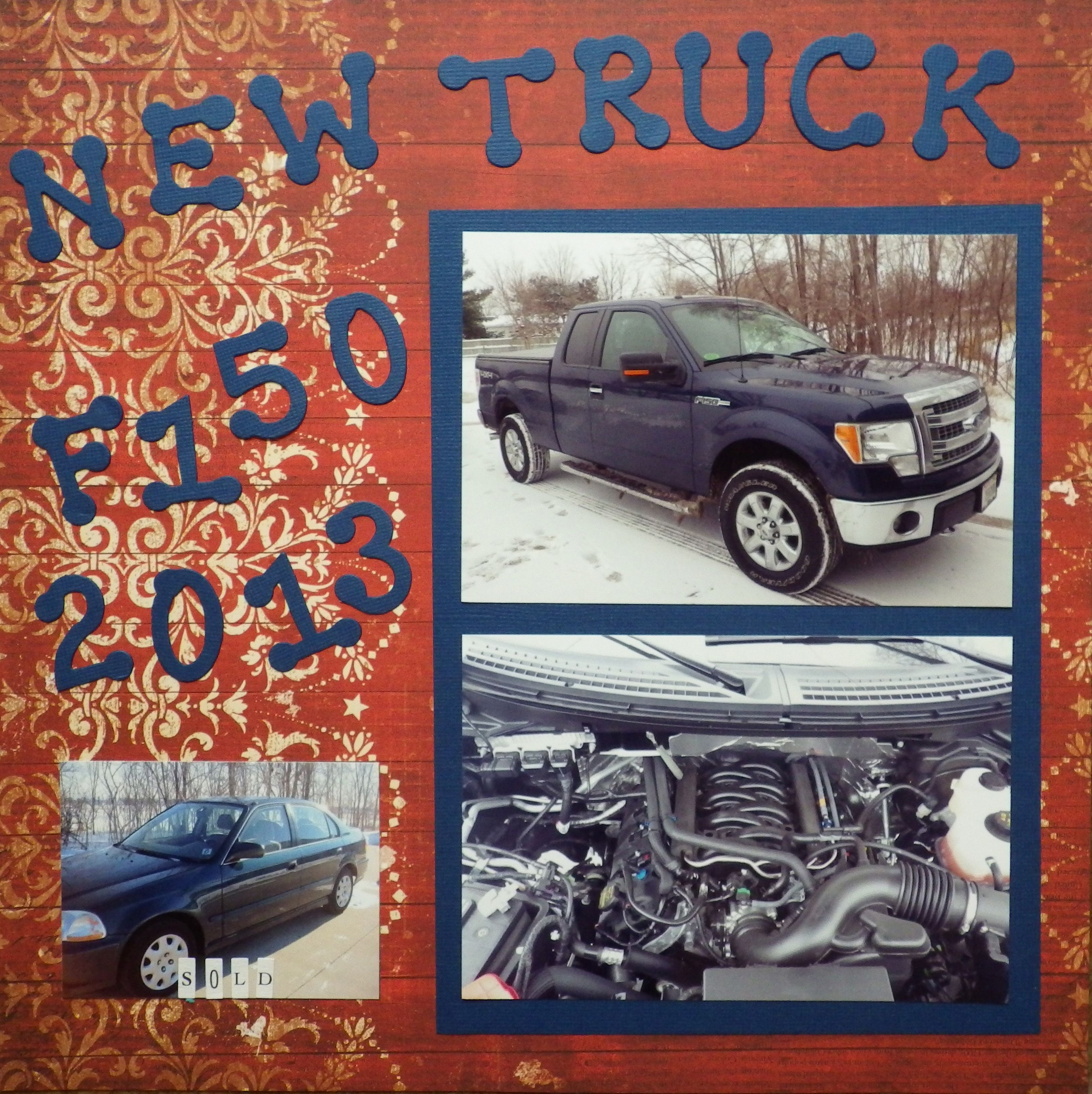 New Truck Scrapbook Com New Trucks Scrapbooking Layouts