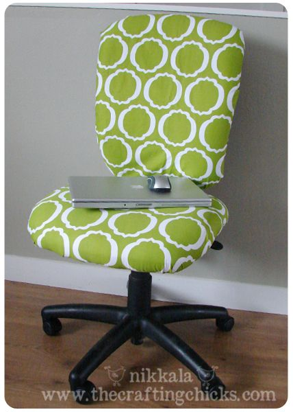 Office Chair Facelift | decor Work ideas | Pinterest | Sillas de ...