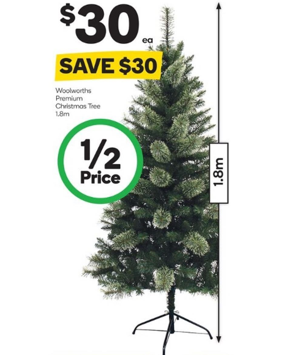 Looking for a #Christmastree  ? Only $30 for this one its #onsale for #halfprice at #woolies until 8.11.16