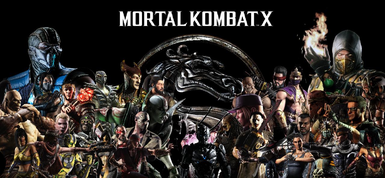 Mortal Kombat X Characters Wallpaper Mortal Kombat X Characters