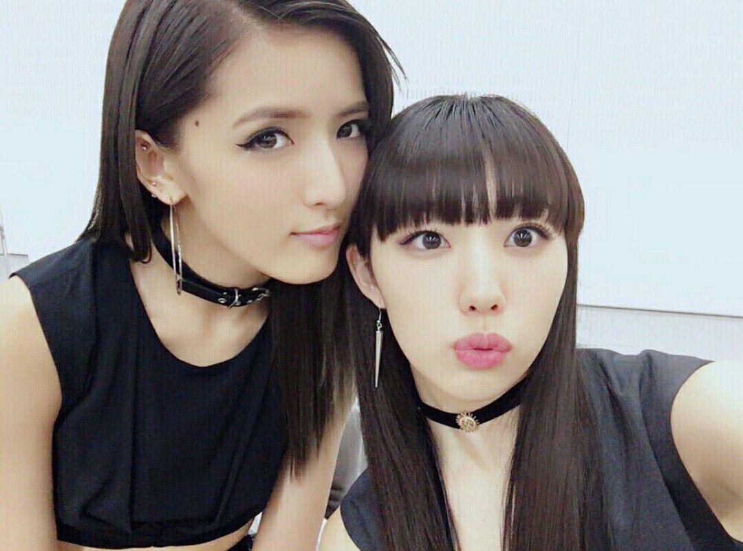 E Girls Flower 重留真波 藤井萩花 Shigetome Manami Fuji Shuka