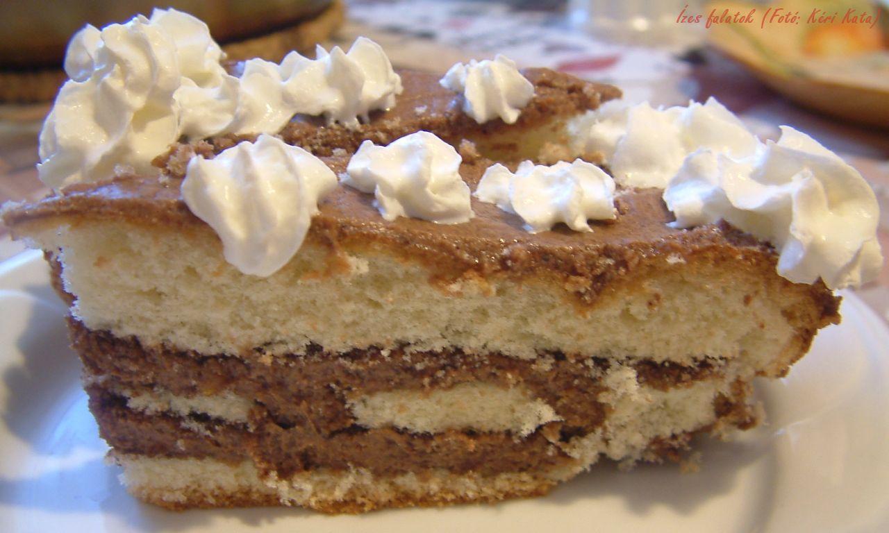Csokoládékrémes torta (Fotó: Kéri Kata)