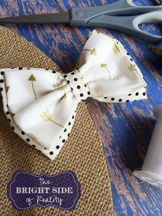 763ca4394c15 How to make the cutest DIY fabric hair bow tutorial | Eisley hair ...