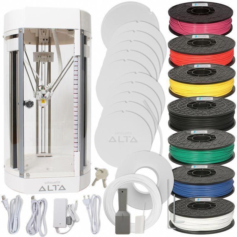 Silhouette Alta 3D Printer Bundle #3dprinter