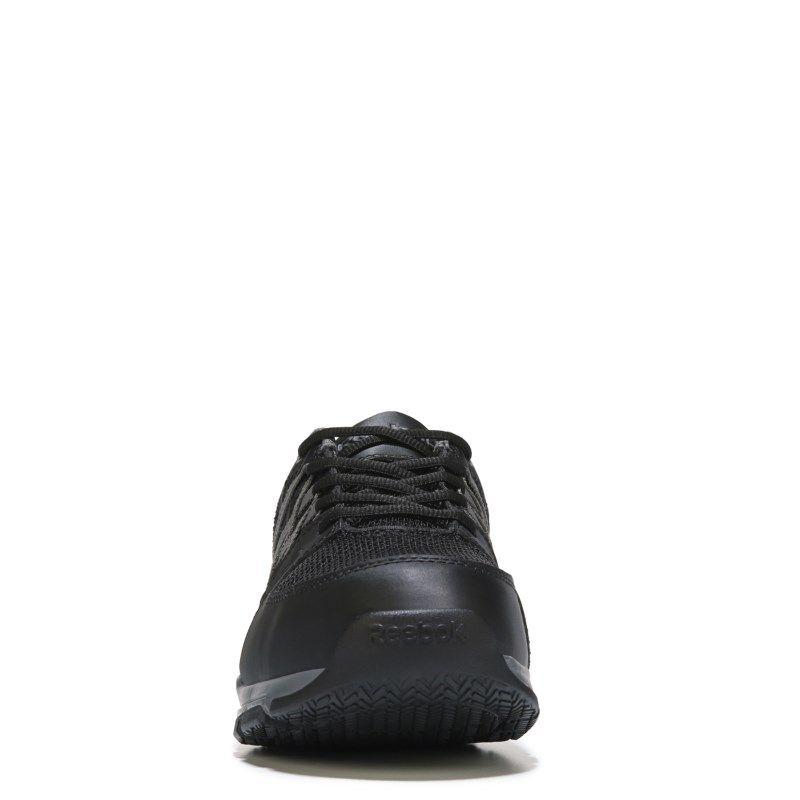 2bde977f0667a1 Reebok Work Men s Sublite Work Medium Wide Steel Toe Work Shoes (Black) -  12.0 M