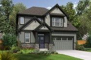 Front Rendering of Plan 22200A - The Yaquina