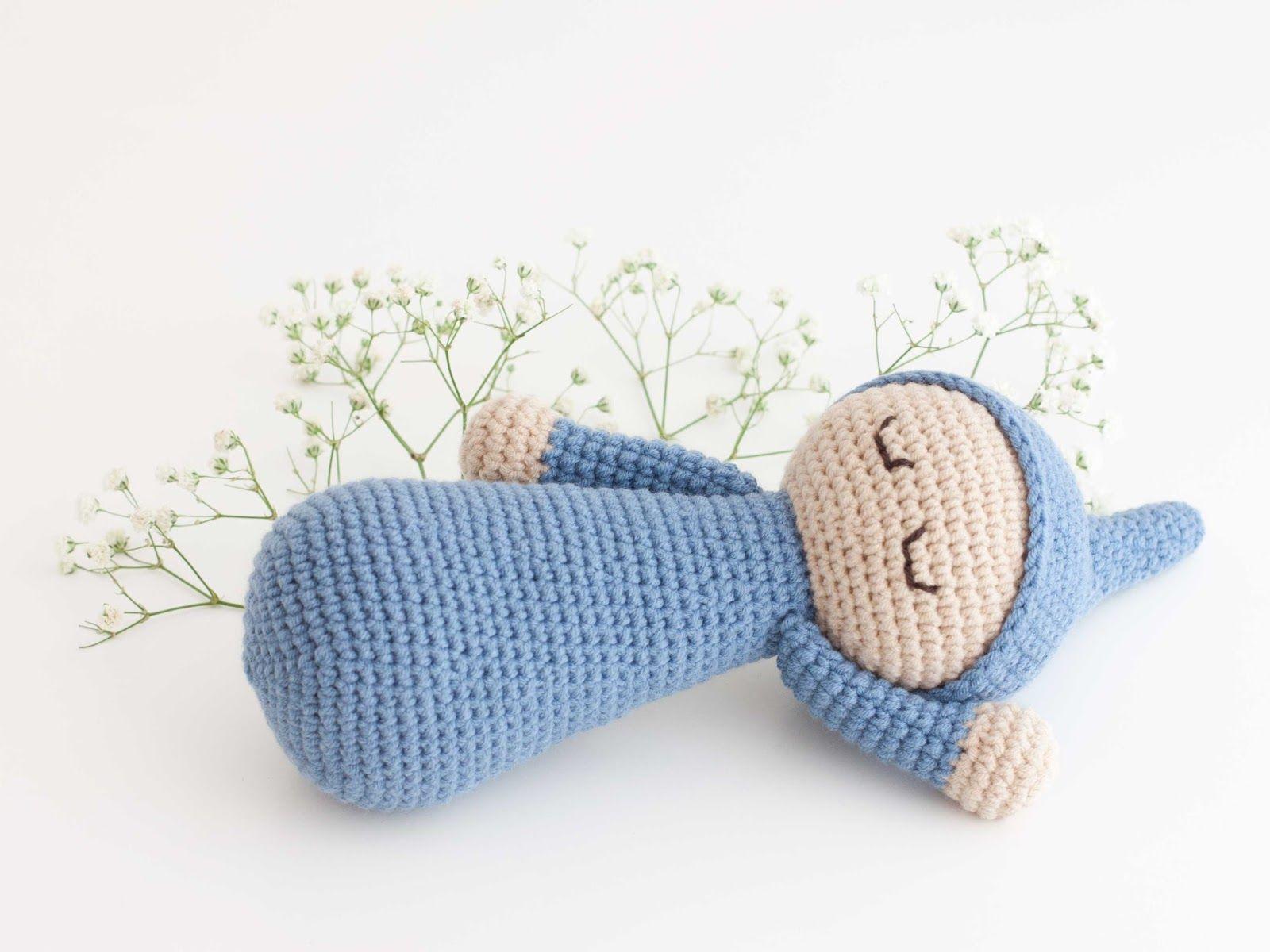 Amigurumi baby (link to free pattern) | Amigurumis PequiCosas ...