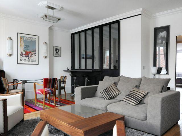 Dix verrières d\'intérieur pour une ambiance unique   Salons, Living ...