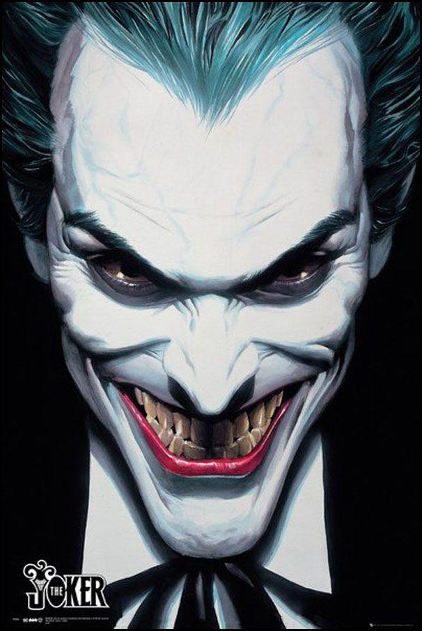 Dc Comics Joker Ross Plakat Plakaty Filmowe Movies