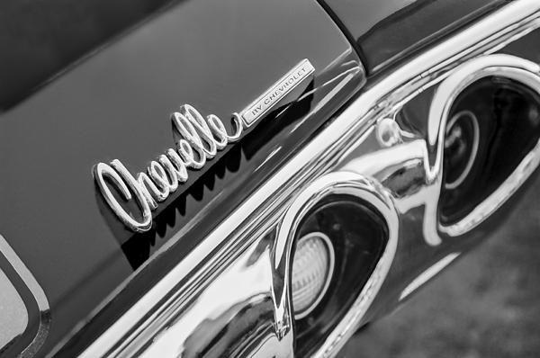 d185e0e5 1972 Chevrolet Chevelle Taillight Emblem by Jill Reger Classic Car