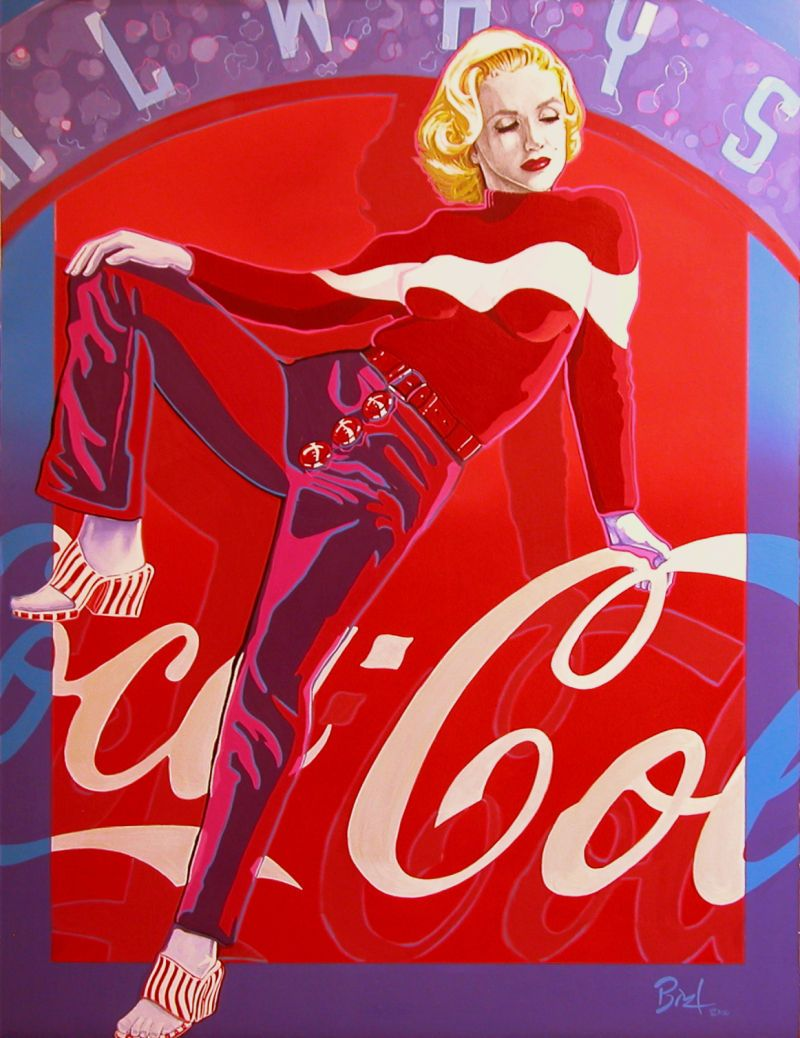 Pin on Marilyn and CocaCola
