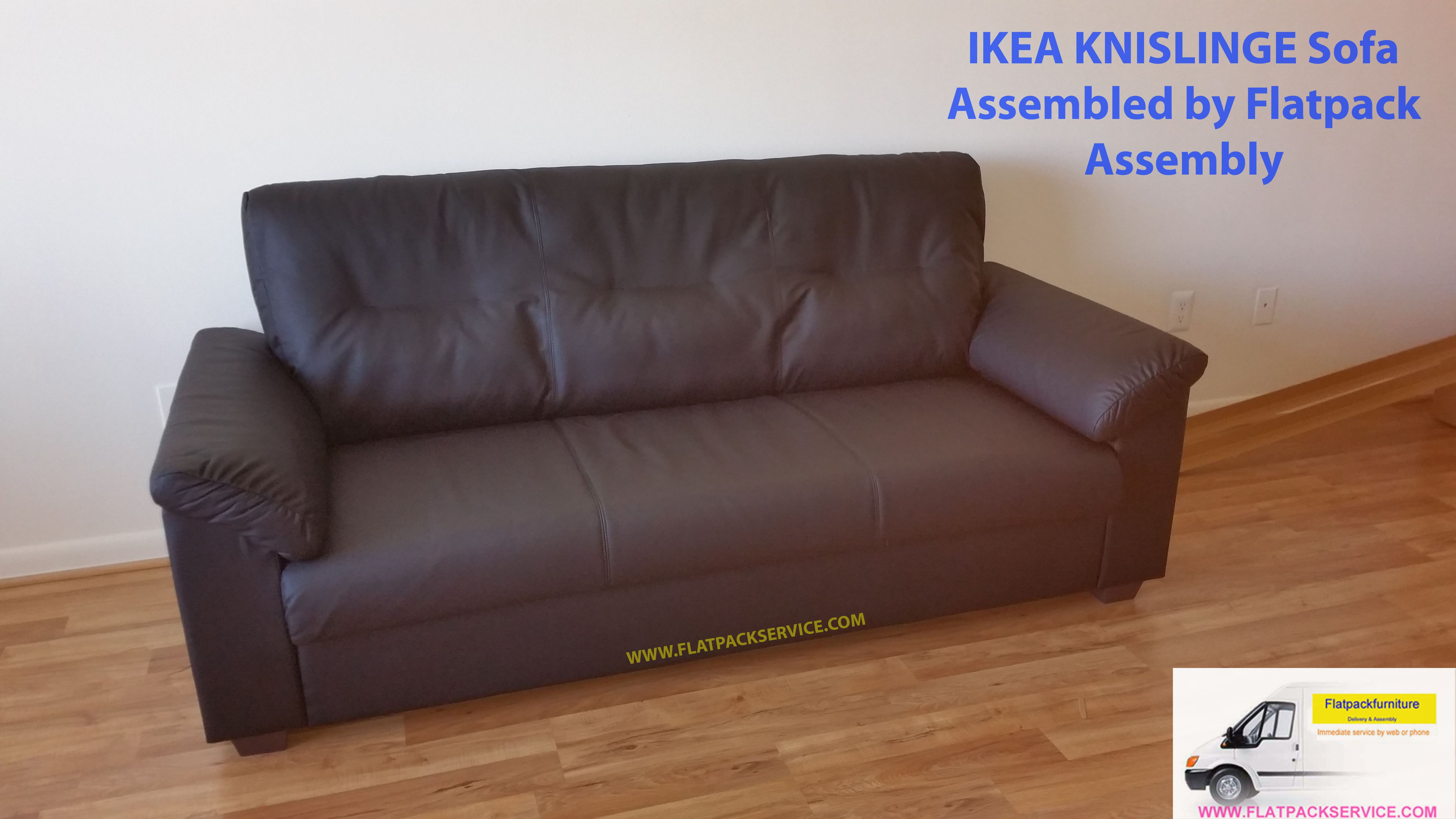 Ikea Knislinge Sofa Article Number 802 789 23 Assembled By