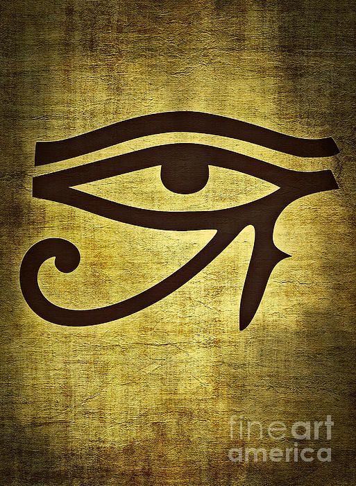 Eye Of Horus Ancient Egypt Art Ancient Egyptian Symbols Egypt Tattoo