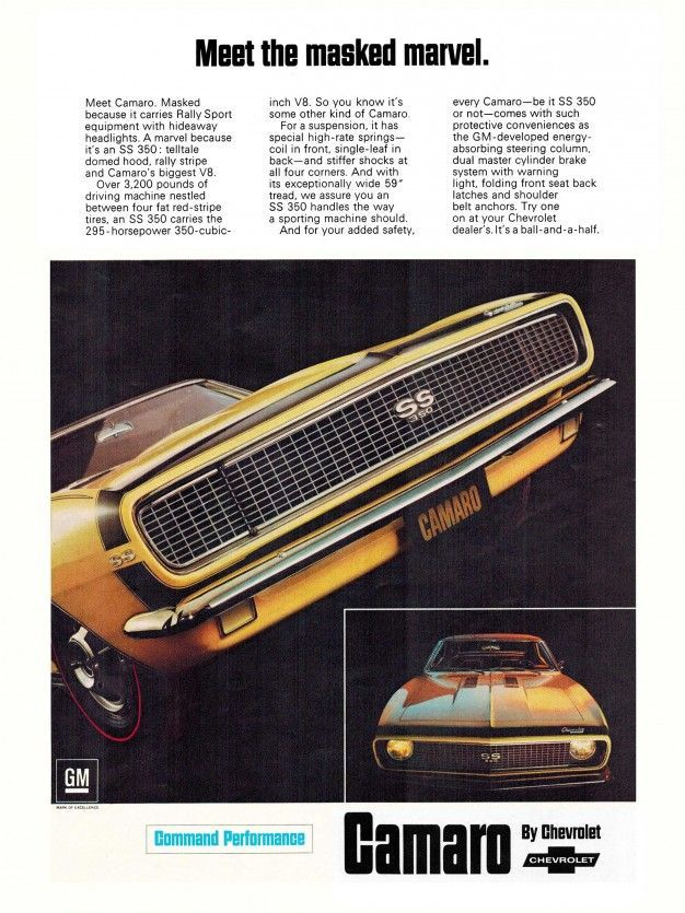 The 45 coolest Chevy Camaro ads ever made