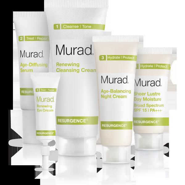 Resurgence Anti Aging Kit Wrinkle Cream And Age Diffusing Serum Murad Anti Aging Anti Aging Kit Skin Care Kit