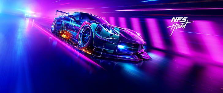 Hd Wallpaper Video Games Video Game Art Ultrawide Ultra Wide Need For Speed Heat Wallpaper Flar Need For Speed Games Need For Speed Heat Need For Speed