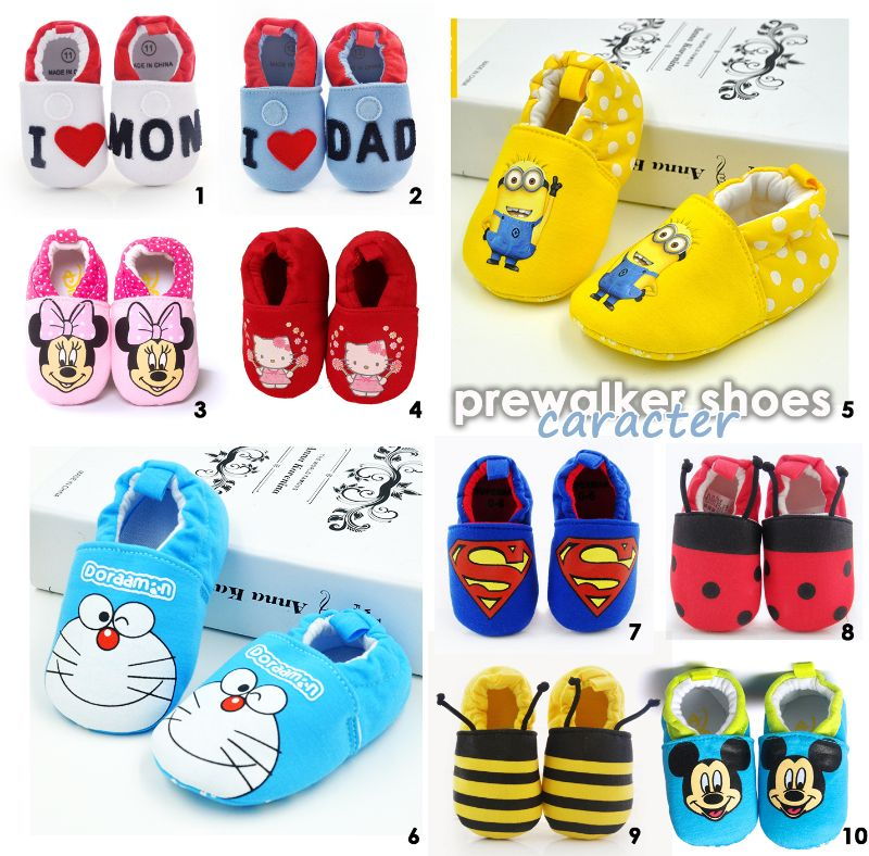 Prewalker Shoes [CHARACTER] Sepatu bayi, Sepatu