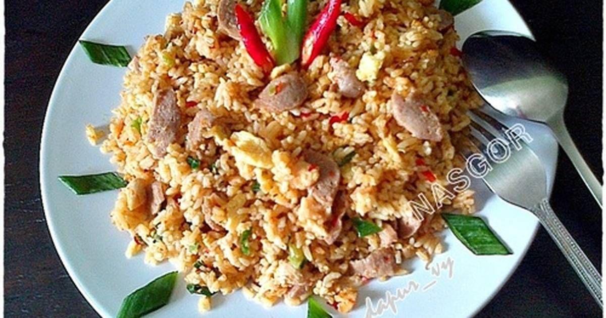 Nasi Goreng Sambal Terasi Resep Resep Resep Makanan Masakan