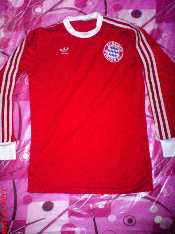 low priced c8eaf 425d7 vintage Adidas Bayern Munich munchen footbal shirt soccer 80S