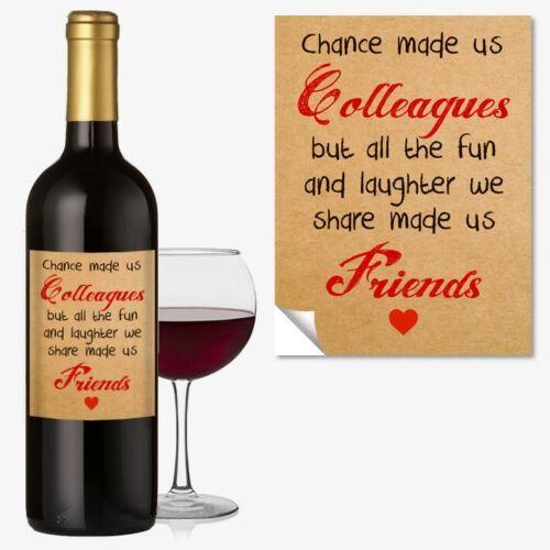 #1045 Friends Bottle Label