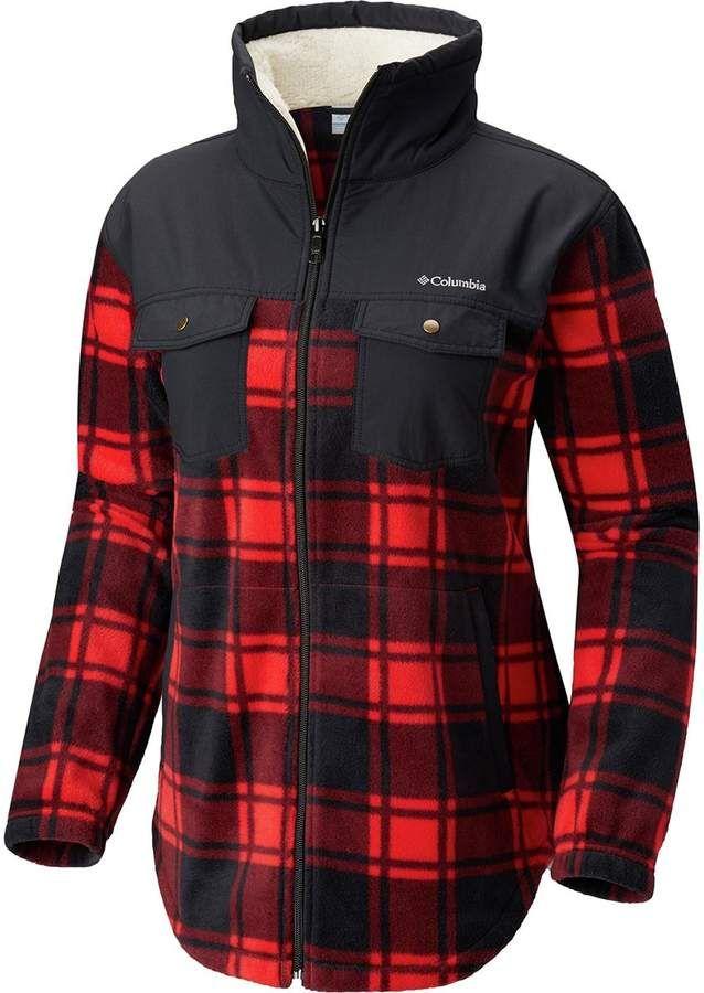 ee3db257a789fc Columbia Benton Springs Overlay Full-Zip Fleece Jacket - Women s ...