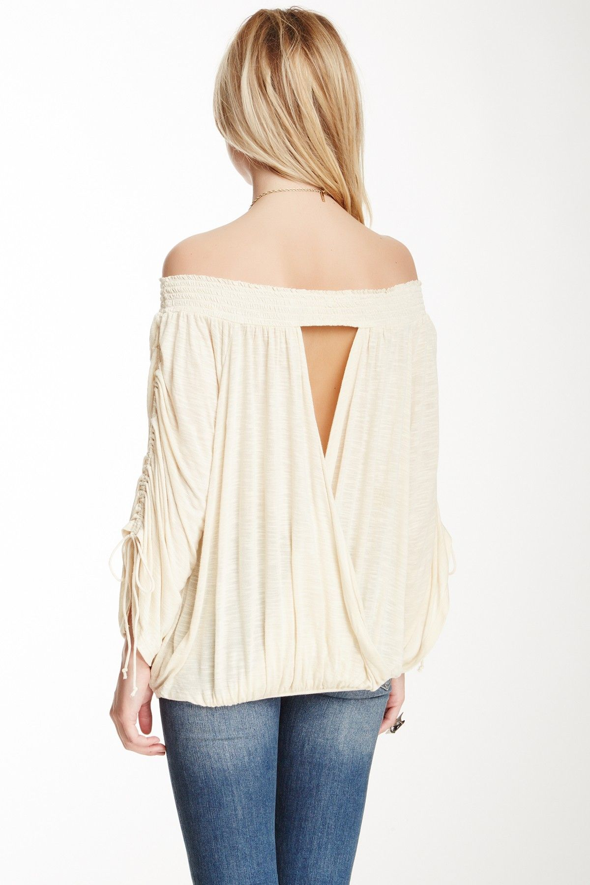 Banded Bottom Blouse Jewelry Dreams Pinterest Casual Chic