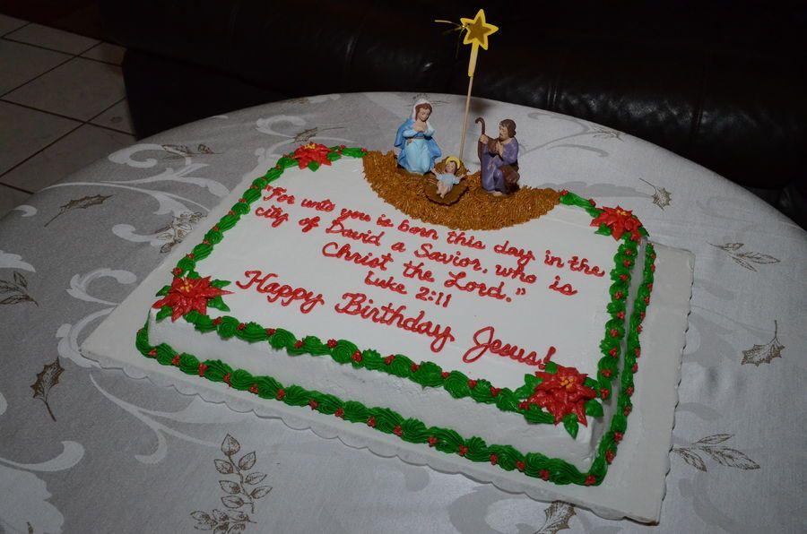 December 21 2013 i decorated this nativity scene happy
