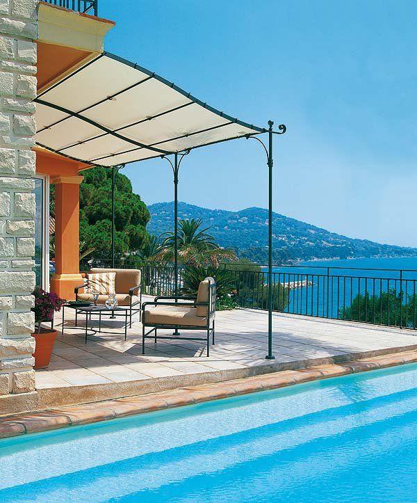 P rgolas y toldos para la terraza o el porche p rgolas - Terrazas con toldos ...