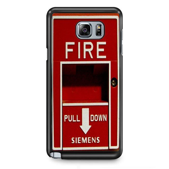 Fire Extinguisher TATUM-4225 Samsung Phonecase Cover Samsung Galaxy Note 2 Note 3 Note 4 Note 5 Note Edge