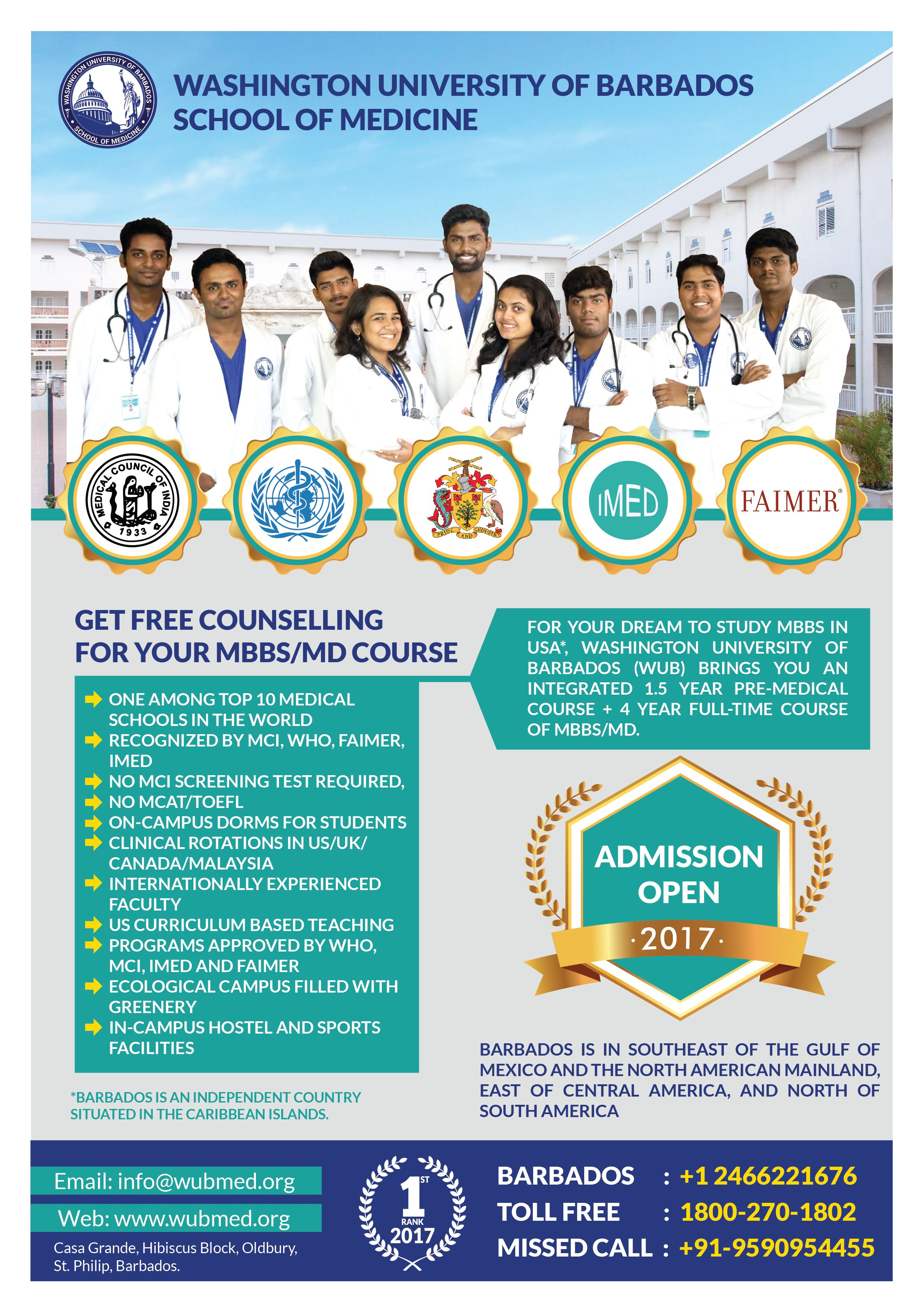 accredited Caribbean medical schools List of Recognized Caribbean