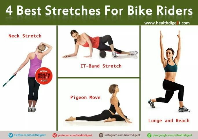 For bike riders