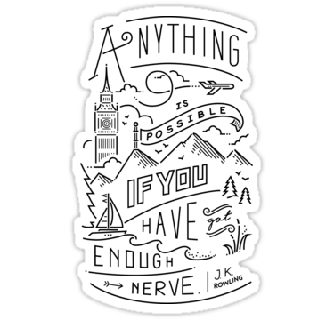 Anything Is Possible By Alelopezg Harry Potter Stickers Journal Stickers Aesthetic Stickers