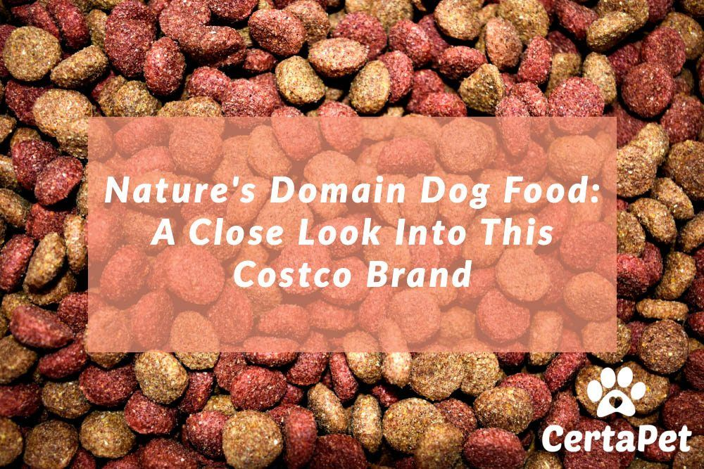 Nature S Domain Dog Food A Close Look Into This Costco Brand