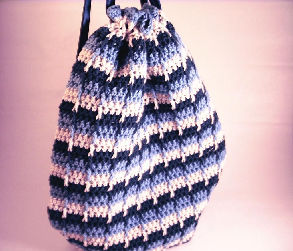 Ready for ridges try the front post double crochet free pattern crochet drawstring bag bankloansurffo Gallery