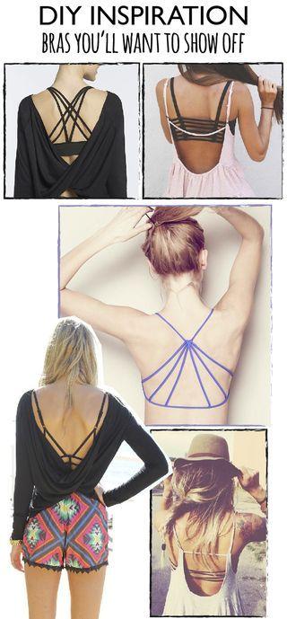 Cómo llevar espaldas abiertas ¿Sin sujetador? | Dare to DIY | Bloglovin'