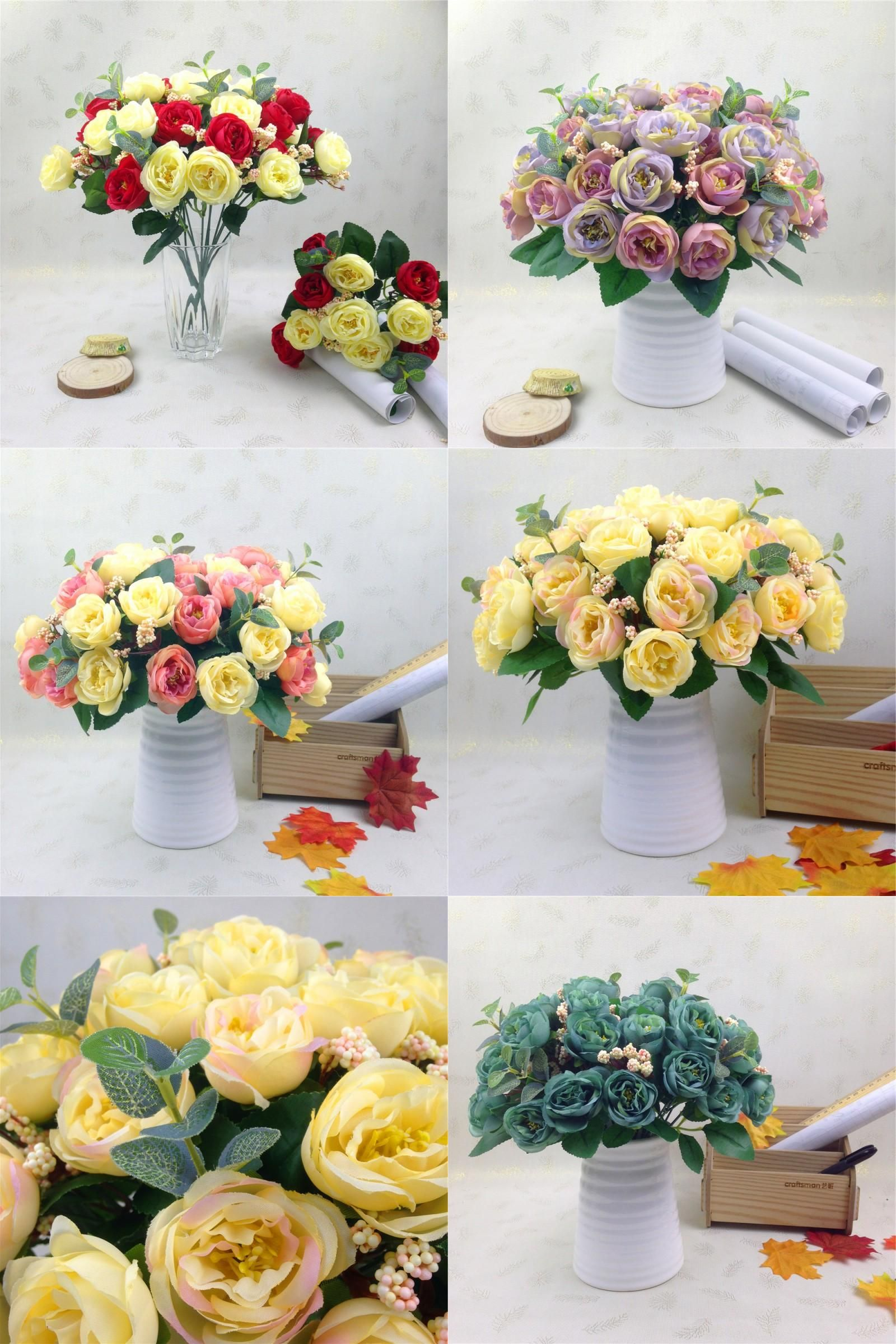 Visit To Buy 10 Pcs Home Party Decorative Flowers Rose Artificial